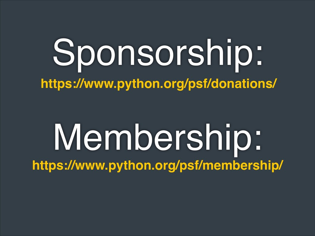 https://www.python.org/psf/donations/ https://w...
