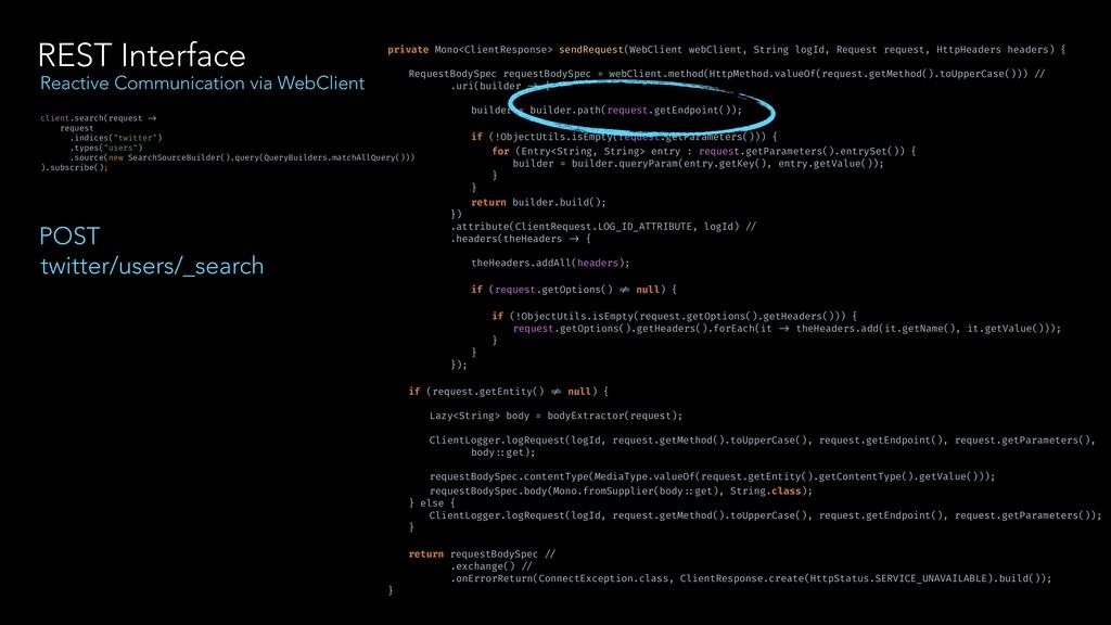 REST Interface Reactive Communication via WebCl...