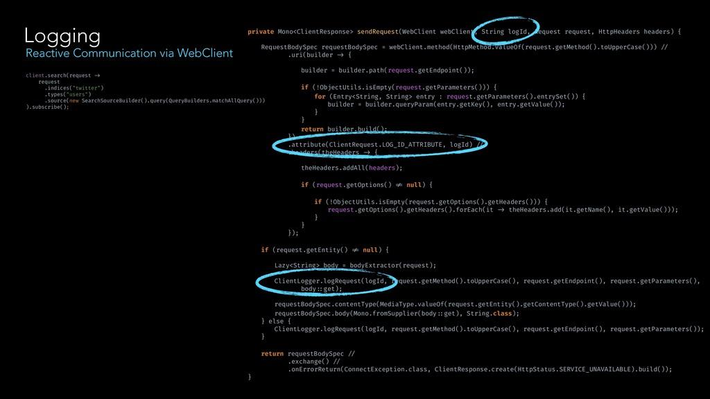 Logging Reactive Communication via WebClient pr...
