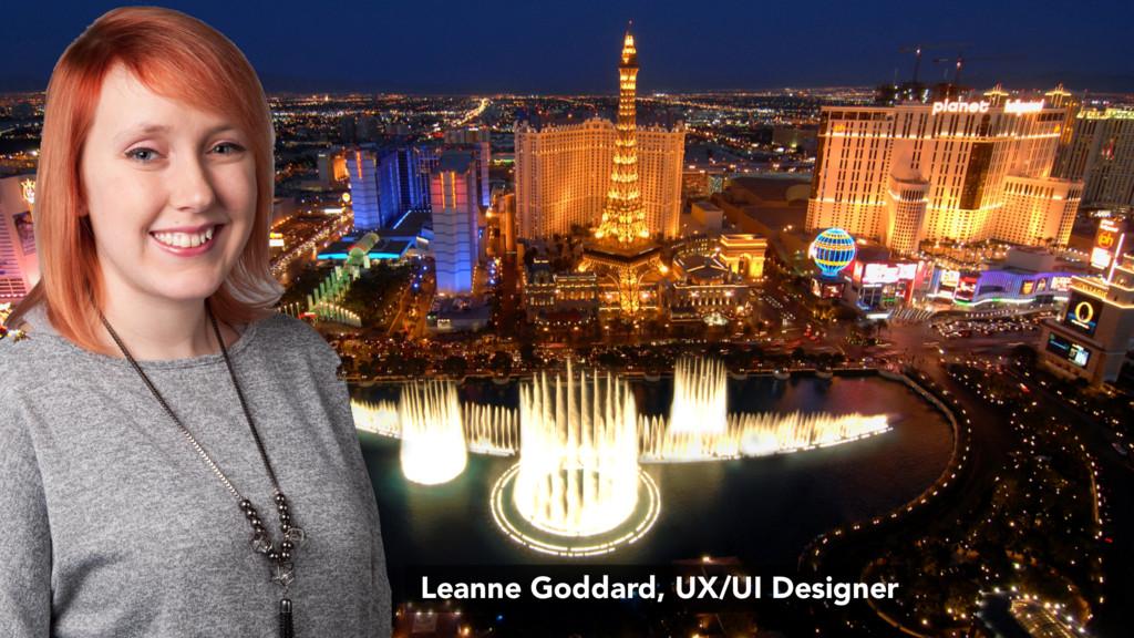 Leanne Goddard, UX/UI Designer