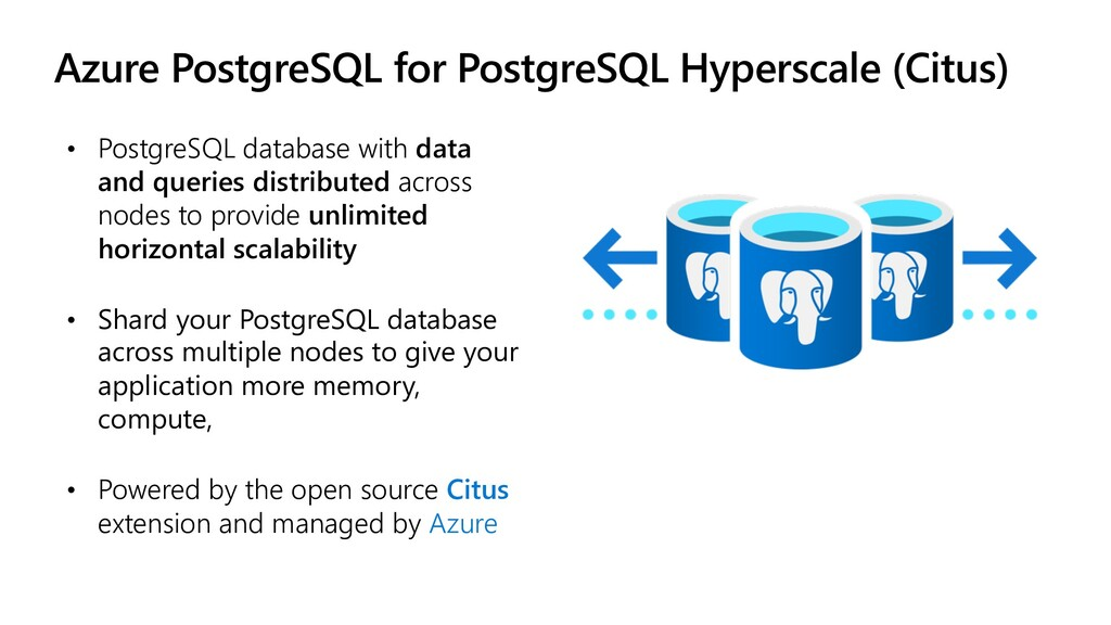 Azure PostgreSQL for PostgreSQL Hyperscale (Cit...