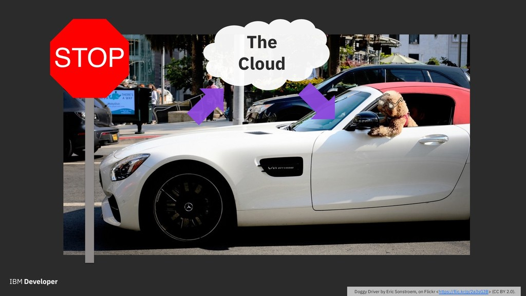 The Cloud STOP Doggy Driver by Eric Sonstroem, ...