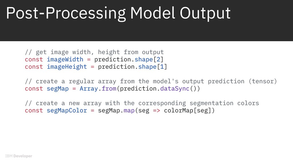 Post-Processing Model Output // get image width...