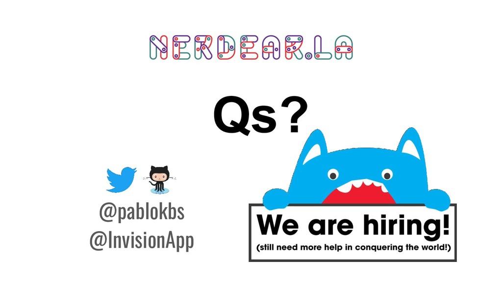 Qs? @pablokbs @InvisionApp