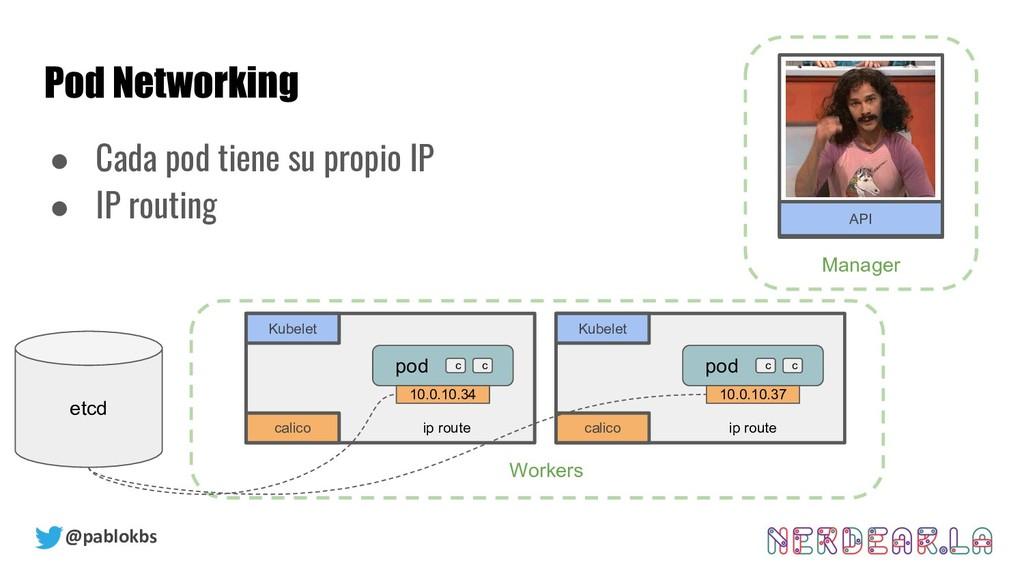 @pablokbs Pod Networking Kubernetes Cluster Ser...
