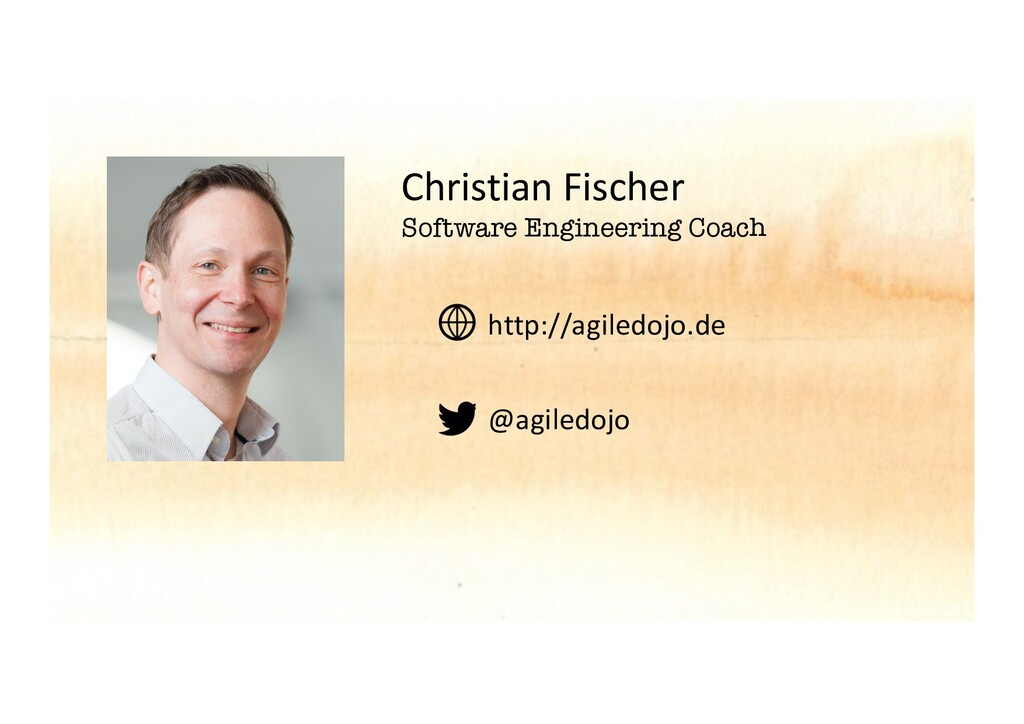 Christian Fischer Software Engineering Coach ht...