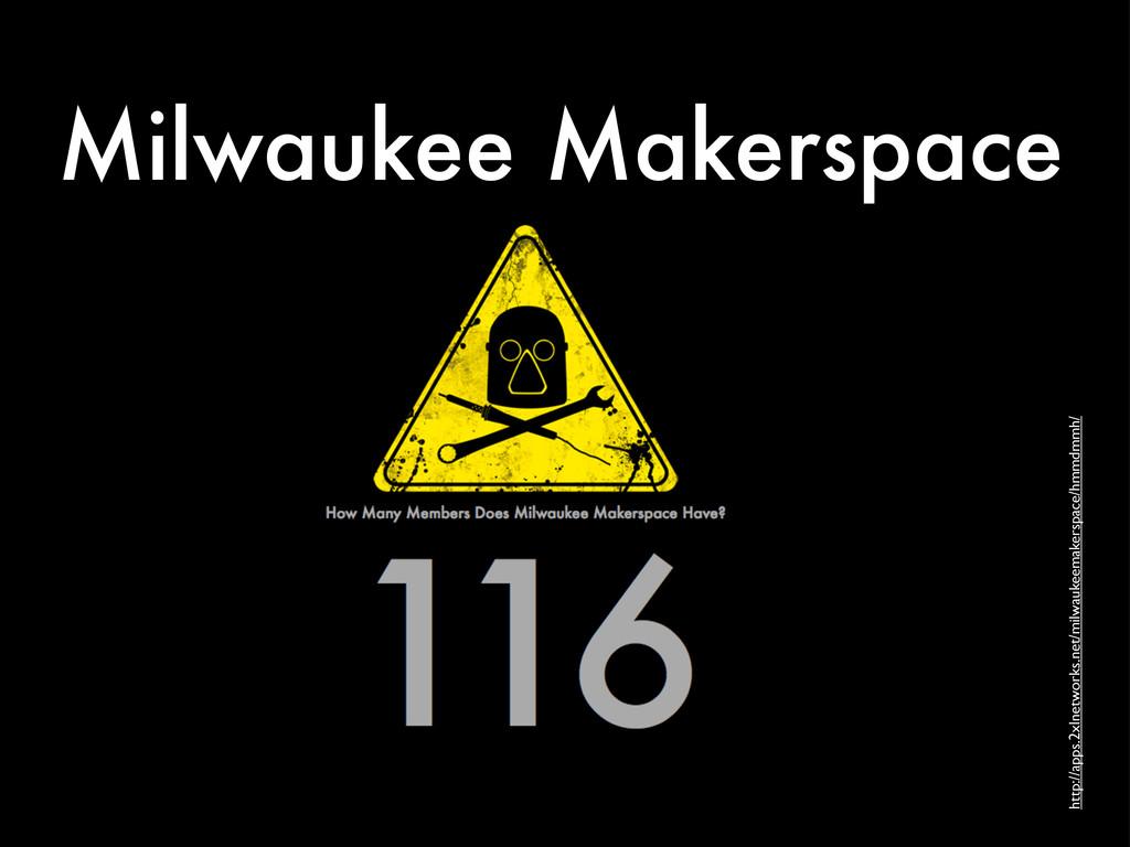 Milwaukee Makerspace http://apps.2xlnetworks.ne...