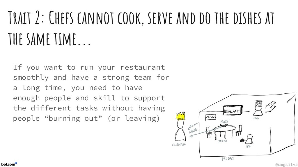 @emgsilva @emgsilva Trait 2: Chefs cannot cook,...