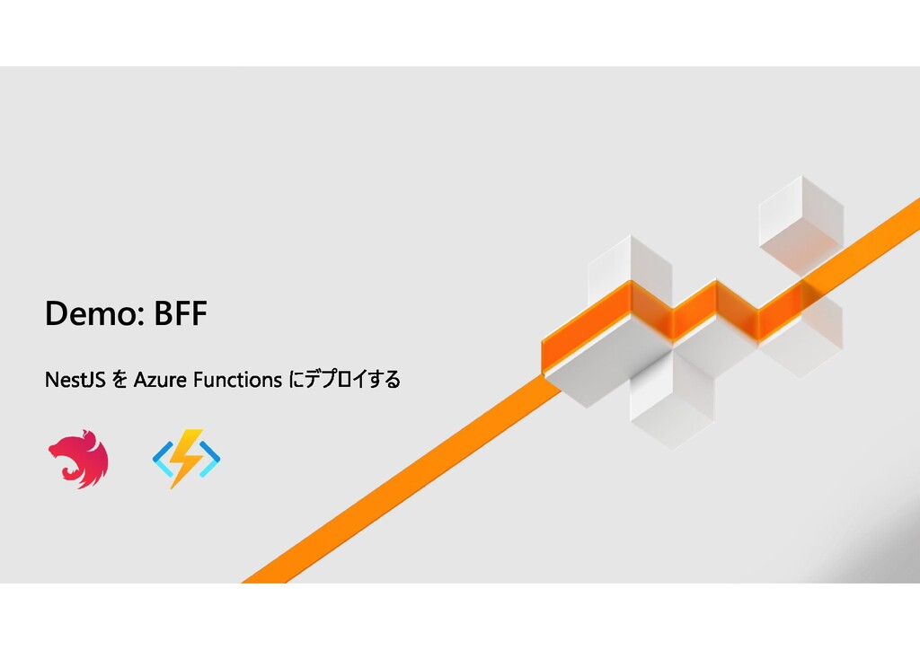 Demo: BFF