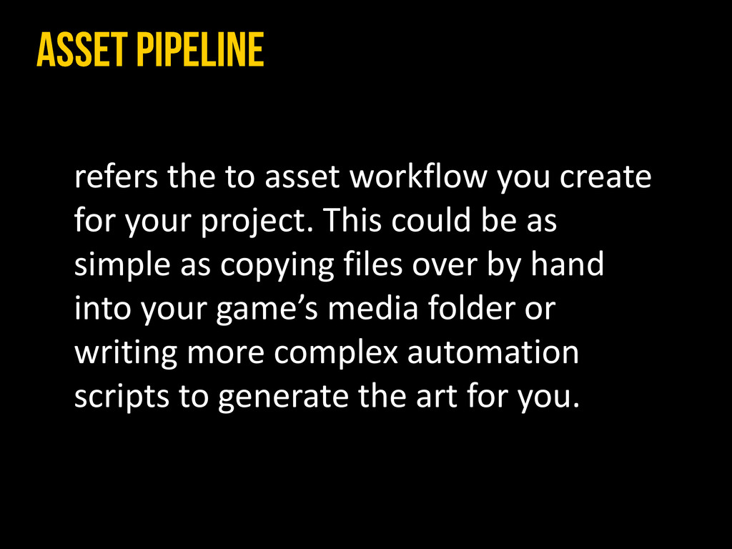 refers the to asset workflow you create for you...