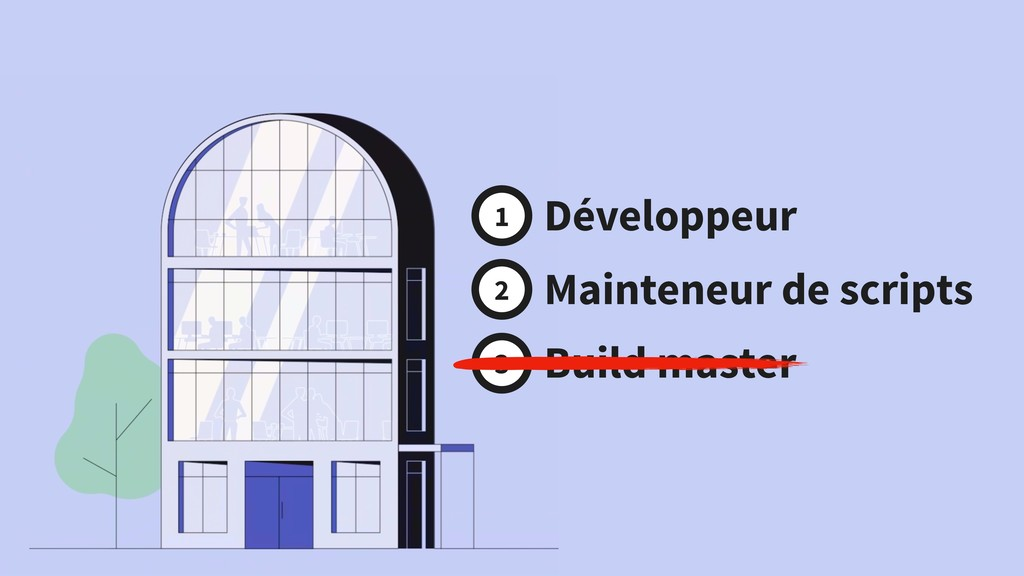 Développeur Mainteneur de scripts Build master ...