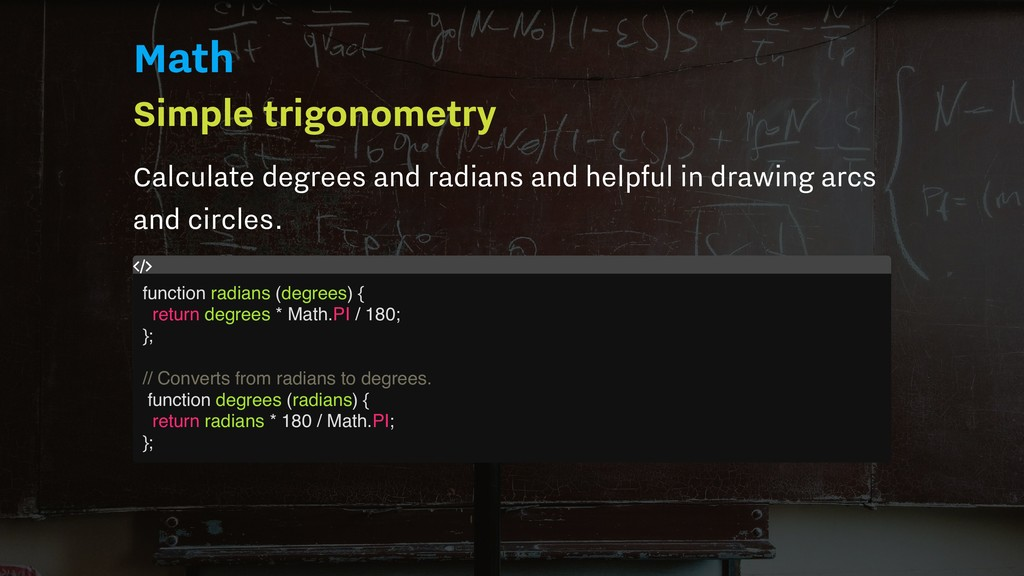Math Simple trigonometry Calculate degrees and ...