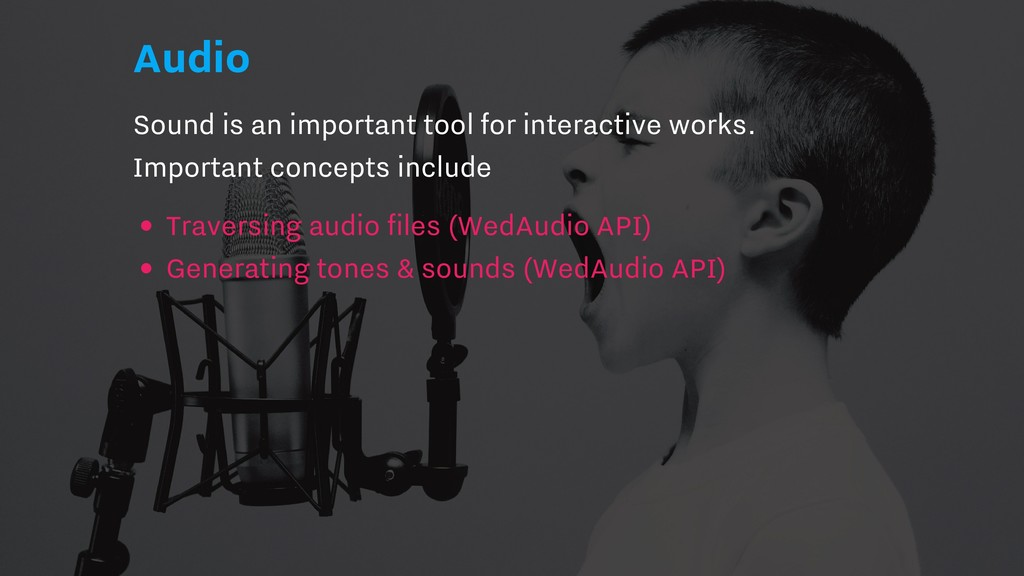 Audio Sound is an important tool for interactiv...