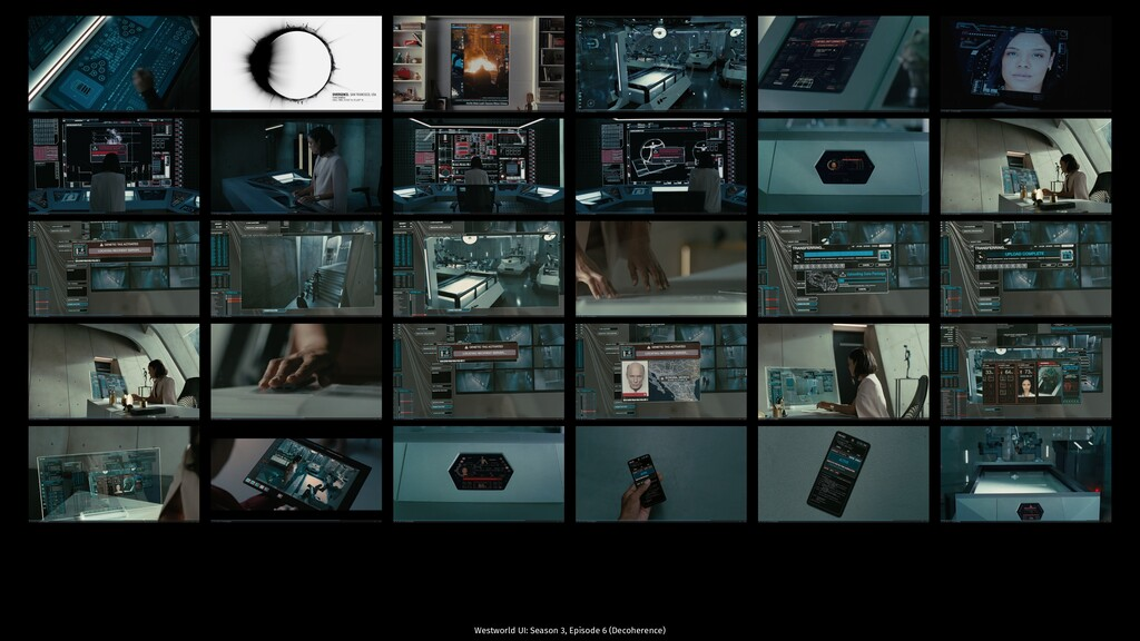 Westworld UI: Season 3, Episode 6 (Decoherence)