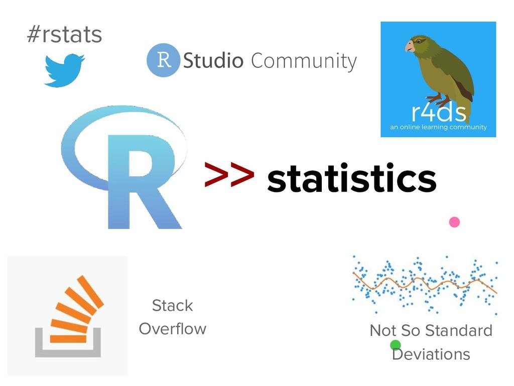 >> statistics Not So Standard Deviations #rstat...