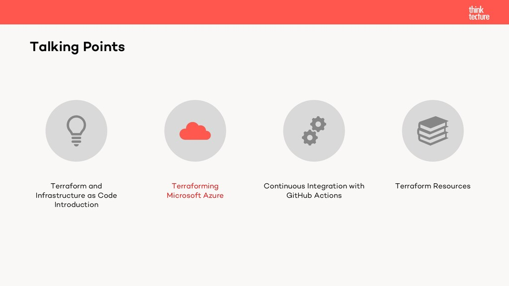 Talking Points Terraform and Infrastructure as ...