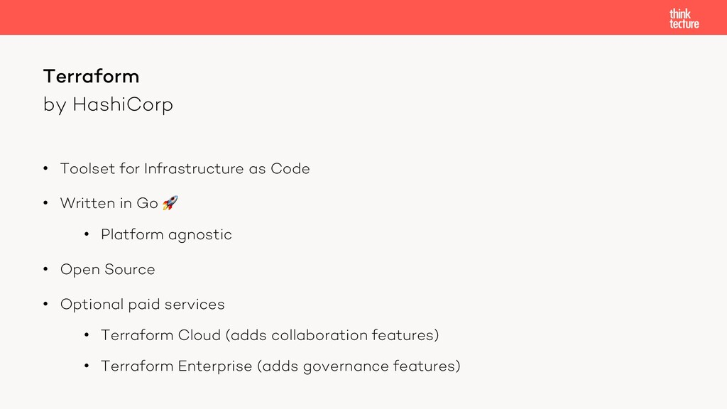 by HashiCorp • Toolset for Infrastructure as Co...
