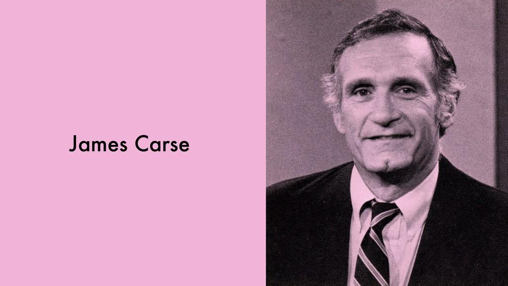 James Carse