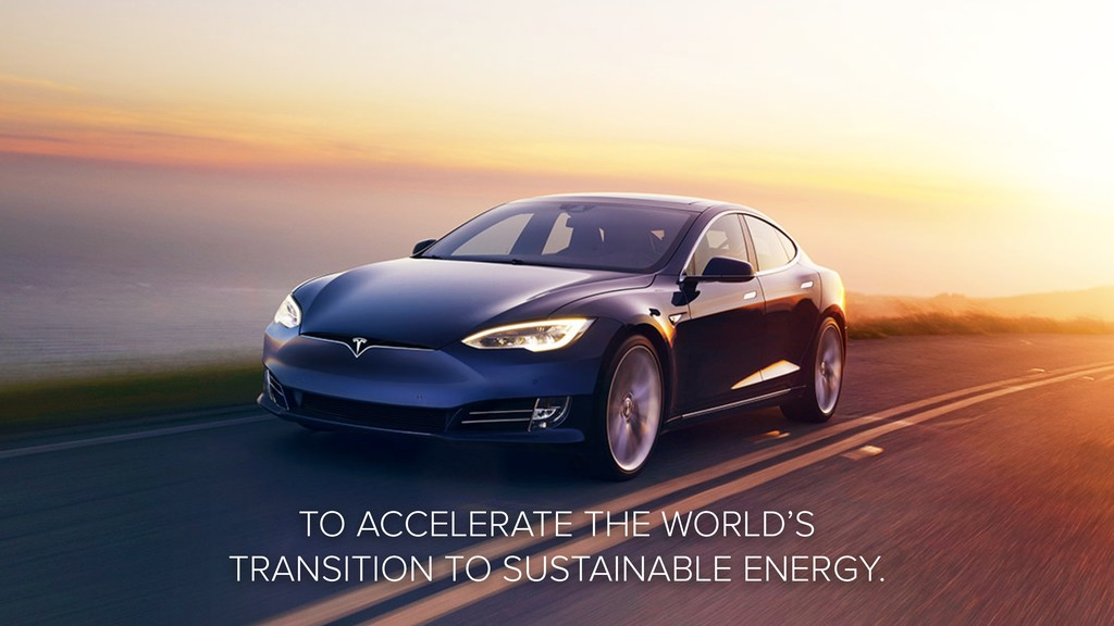 TO ACCELERATE THE WORLD'S TRANSITION TO SUSTAIN...