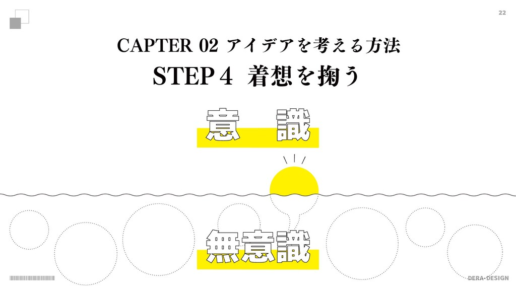 "DERA-DESIGN 22 意 識 $""15&3ΞΠσΞΛߟ͑Δํ๏ 45&1̐ண..."