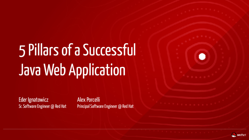 5 Pillars of a Successful Java Web Application ...