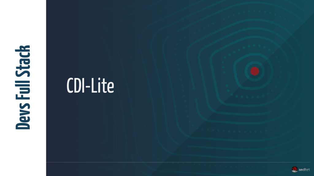 CDI-Lite Devs Full Stack
