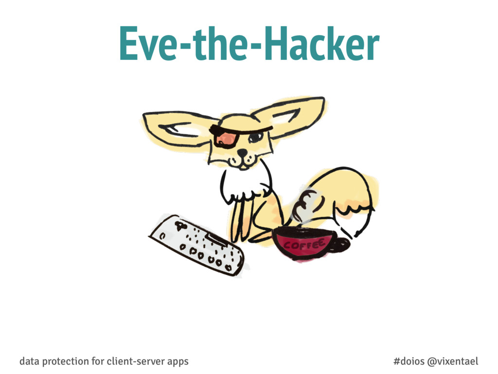 Eve-the-Hacker data protection for client-serve...