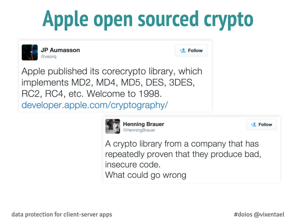 Apple open sourced crypto data protection for c...