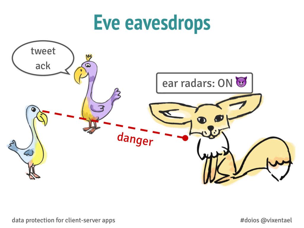 Eve eavesdrops danger data protection for clien...