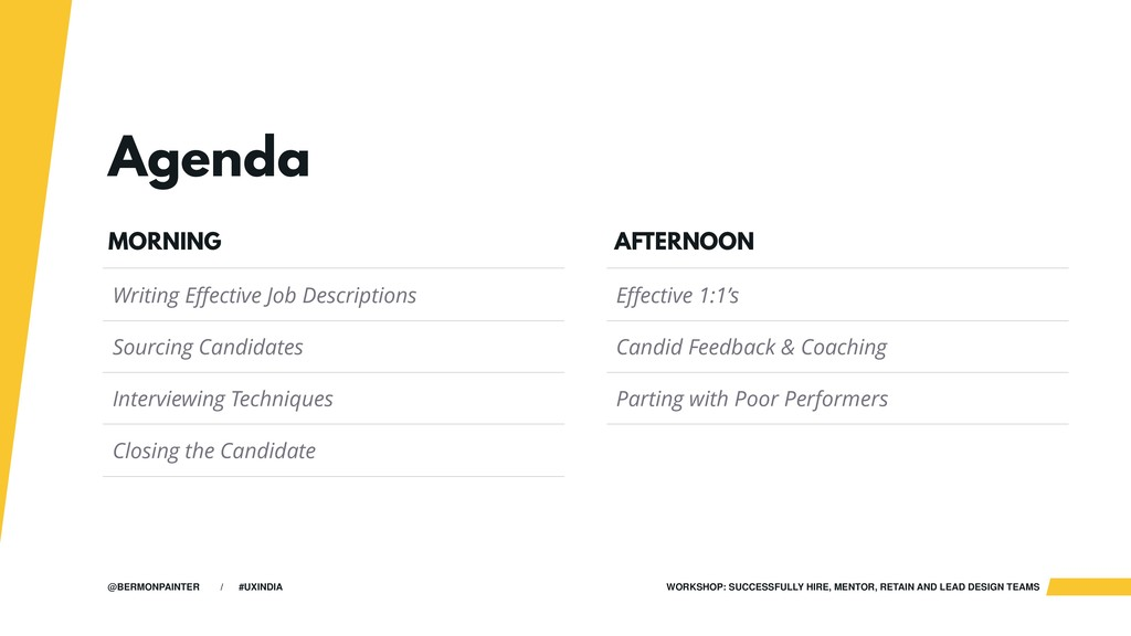 WORKSHOP: SUCCESSFULLY HIRE, MENTOR, RETAIN AND...