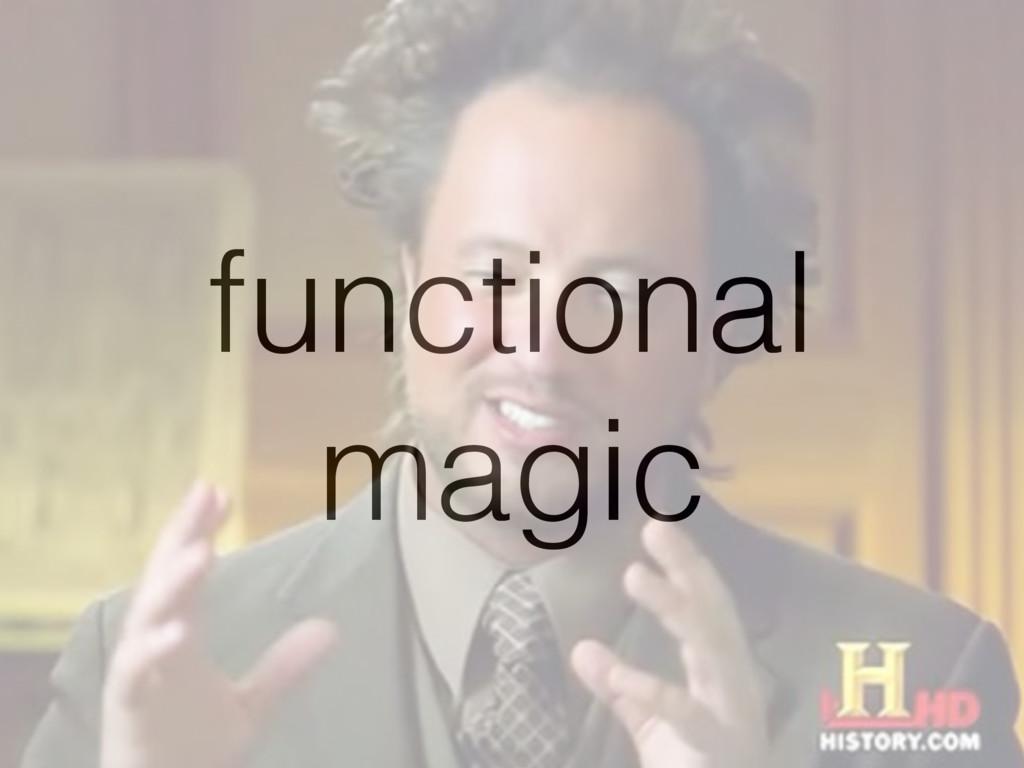 functional magic