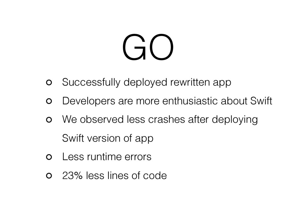 GO Successfully deployed rewritten app Develope...