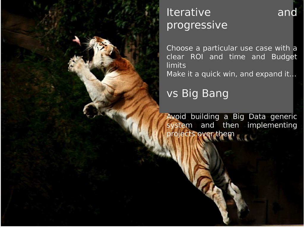 Iterative and progressive Choose a particular u...