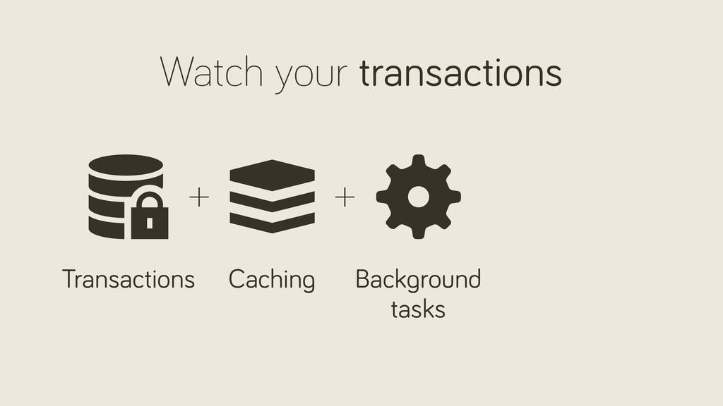 Watch your transactions Transactions Back round...