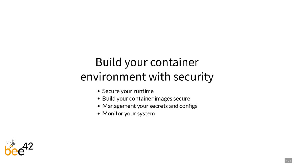 Build your container environment with security ...