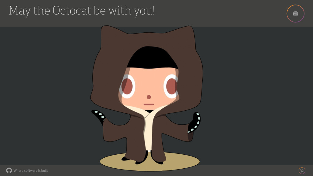 ! Where software is built May the Octocat be wi...