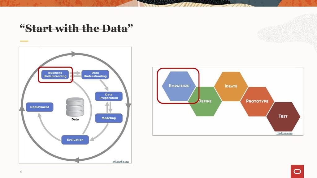 "4 wikipedia.org medium.com ""Start with the Data"""