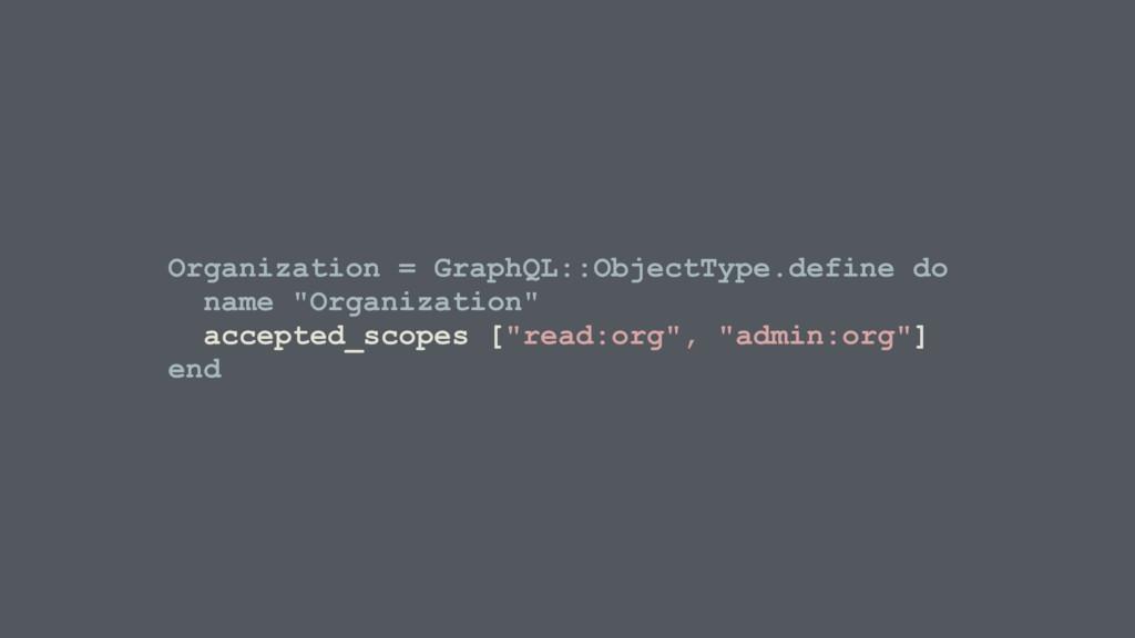 Organization = GraphQL::ObjectType.define do na...