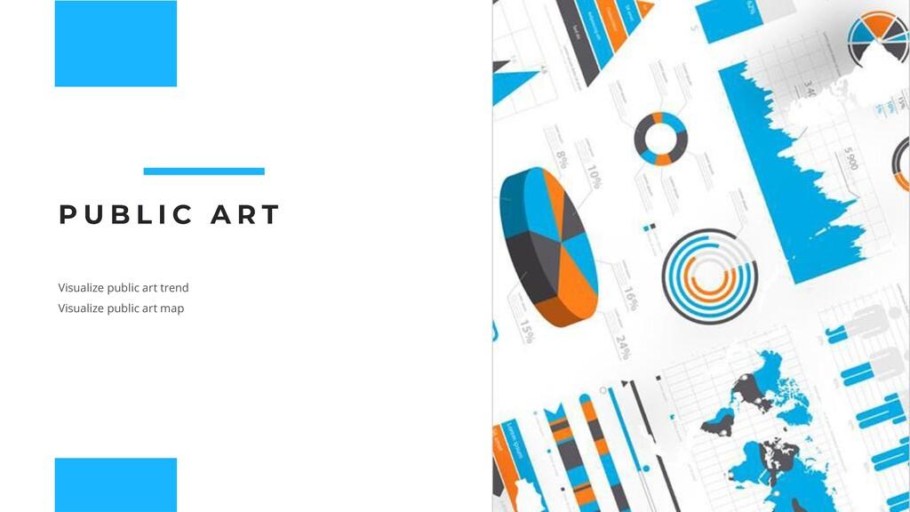 Visualize public art trend Visualize public art...