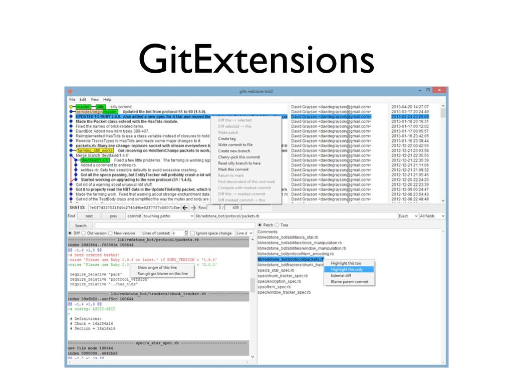 GitExtensions