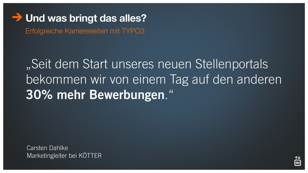 """Seit dem Start unseres neuen Stellenportals be..."