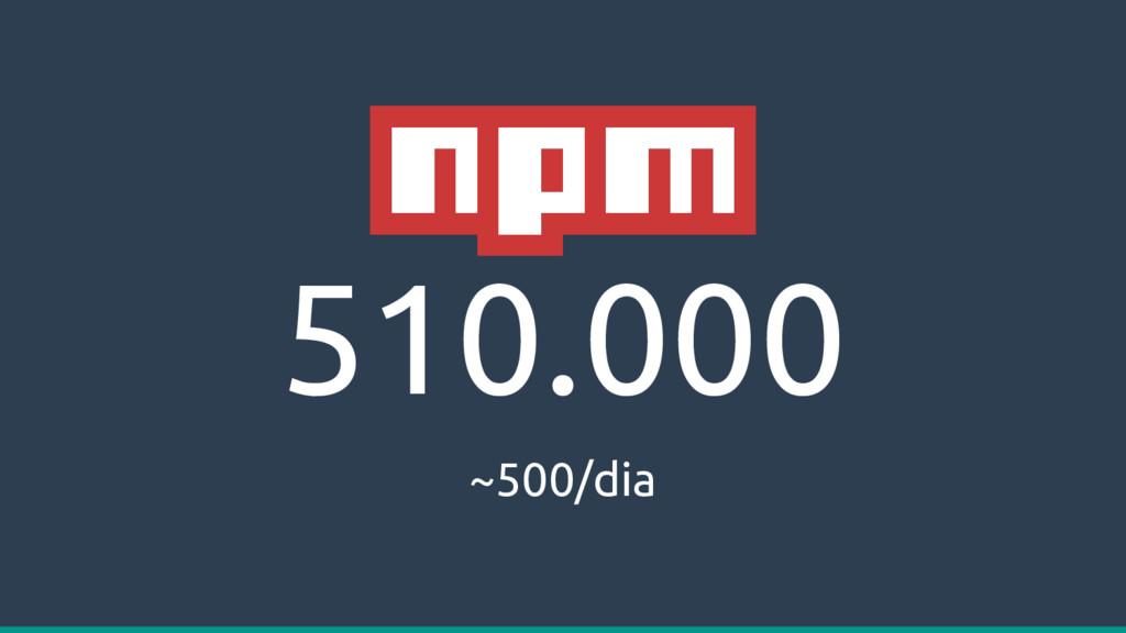 510.000 ~500/dia
