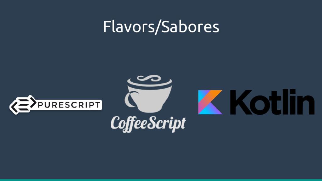 Flavors/Sabores