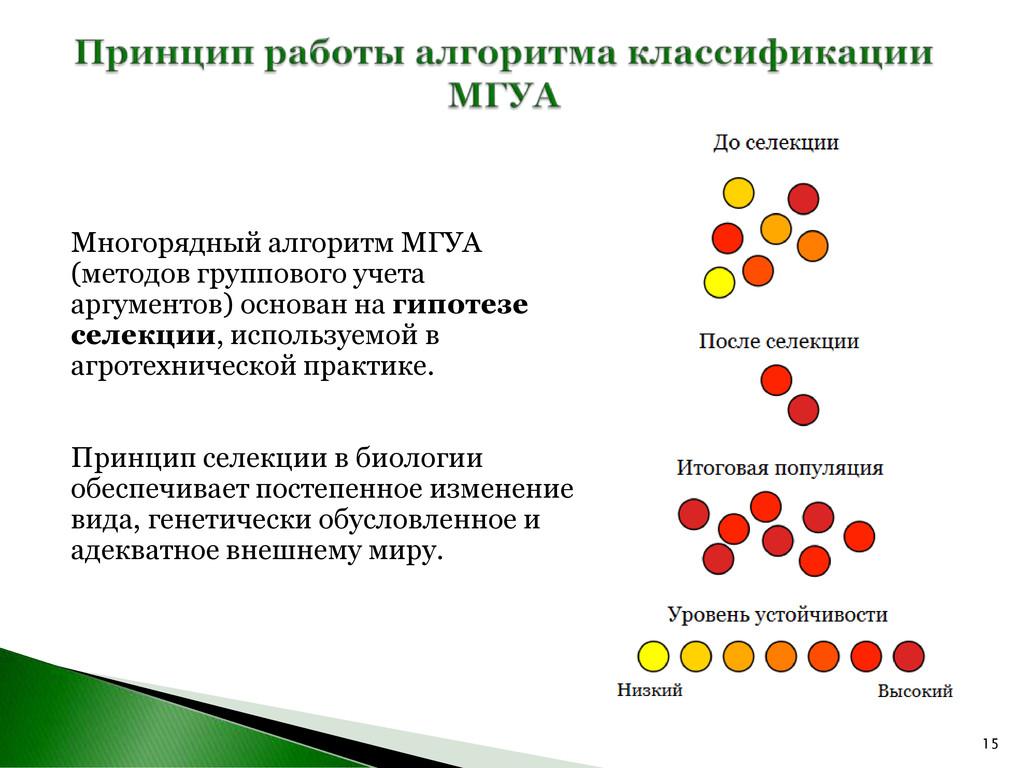 15 Многорядный алгоритм МГУА (методов групповог...