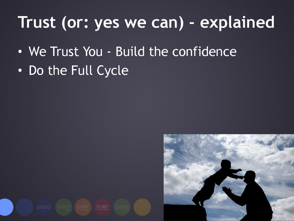 Trust (or: yes we can) - explained • We Trust Y...