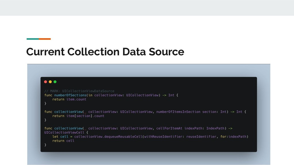 Current Collection Data Source