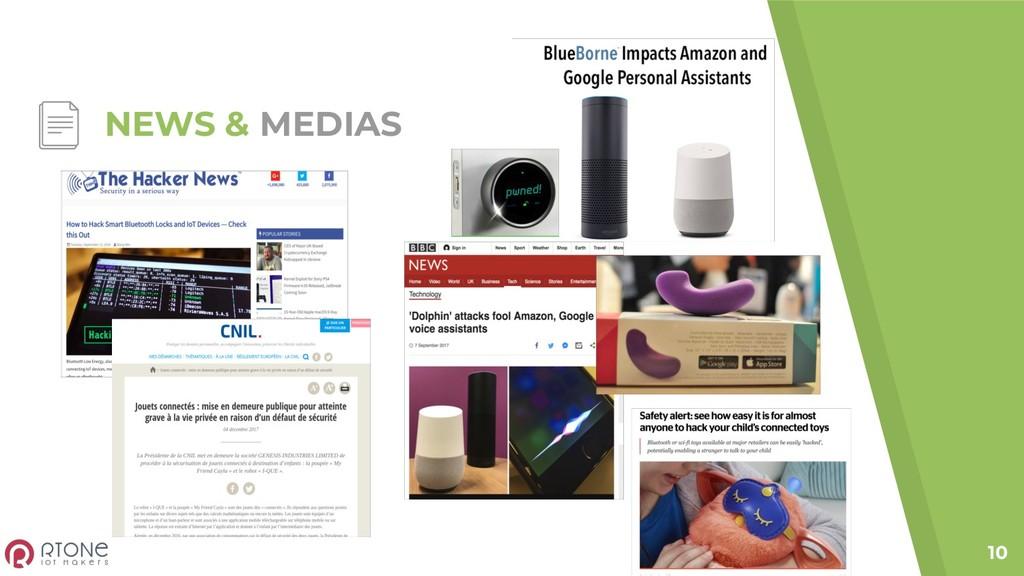 NEWS & MEDIAS 10
