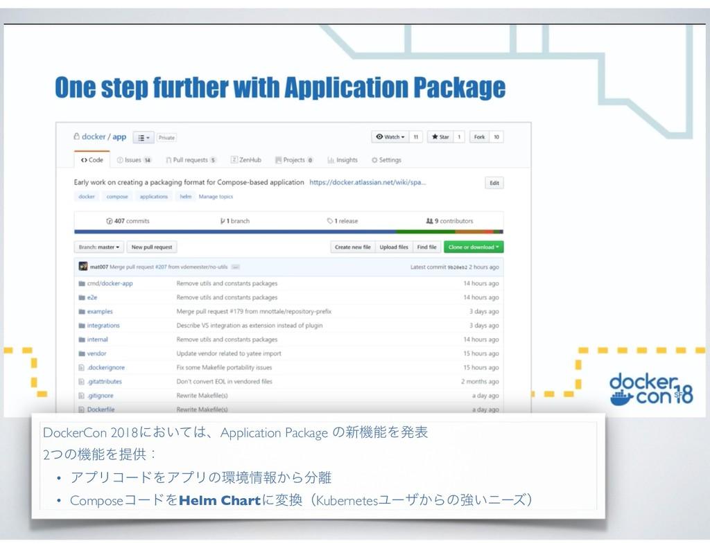 DockerCon 2018ʹ͓͍ͯɺApplication Package ͷ৽ػΛൃද...