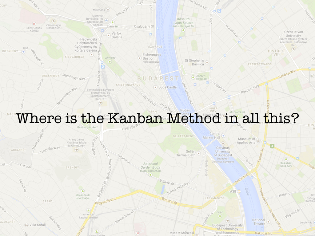 Where is the Kanban Method in all this?