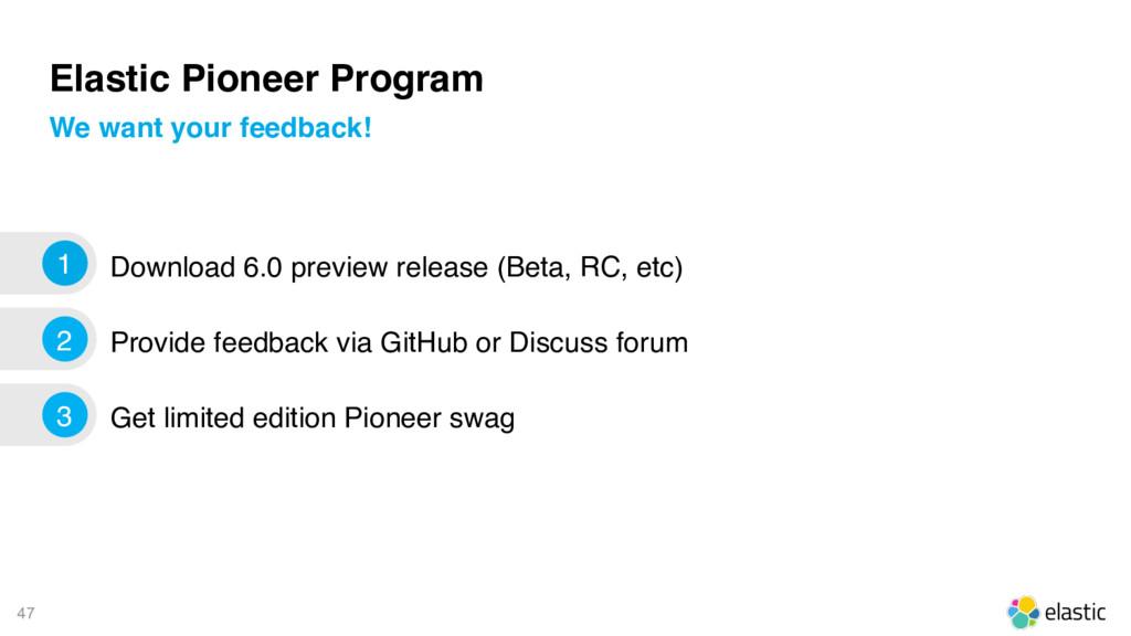 47 Elastic Pioneer Program Download 6.0 preview...